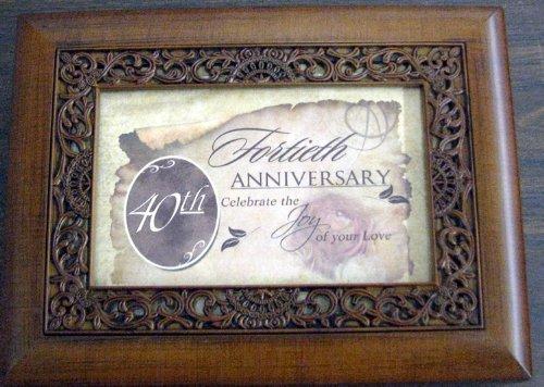 Cottage Garden OMB52 40th Anniversary Music Box by Cottage Garden