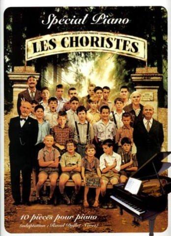 Die Kinder des Monsieur Mathieu -- 8 beliebte Melodien aus der Filmmusik arrangiert für Klavier, mit Bleistift (Noten) von Christophe Barratier, Bruno Coulais