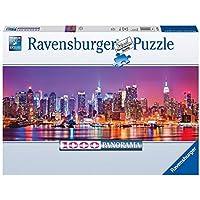 Ravensburger 15078 - Puzzle Panorama Luci di Manhattan, 1000 Pezzi