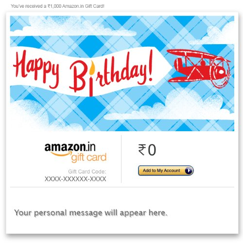 Birthday Gift Cards: Buy Birthday Gift cards online at Amazon.in