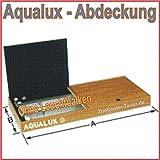 TAB Aqualux Aquarium Abdeckung ohne Leuchtbalken in Standartdekor (120x60 cm)