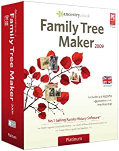 Family Tree Maker 2009 Platinum (PC CD)
