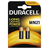 Duracell Specialty Type MN21 Alkaline Battery, Pack of 2