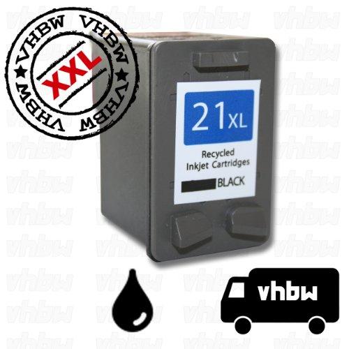 vhbw kompatible Ersatz Tintenpatrone Druckerpatrone schwarz für HP Deskjet D1360, D1368, D2320, D2330, D2338, D2345, D2360, D2430, D2445