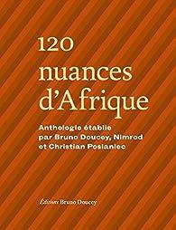 120 nuances d'Afrique par Bruno Doucey