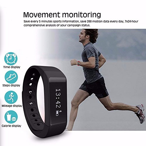 fitness tracker elegiant sport smartwatch i5. Black Bedroom Furniture Sets. Home Design Ideas