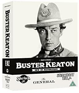 Buster Keaton: 3 Films (Sherlock Jr., The General, Steamboat Bill, Jr.) [Masters of Cinema] Limited Edition Blu-ray Boxed Set