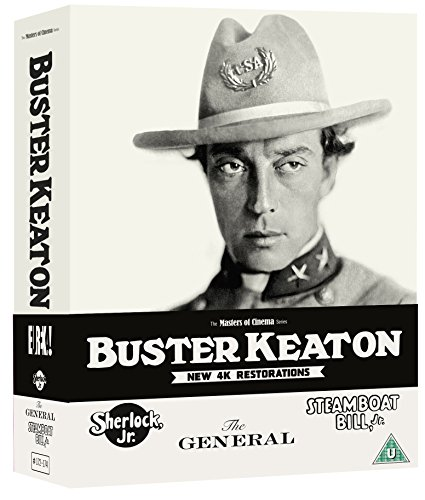 Bild von Buster Keaton: 3 Films (Sherlock Jr., The General, Steamboat Bill, Jr.) [Masters of Cinema] Limited Edition Blu-ray Boxed Set [UK Import]