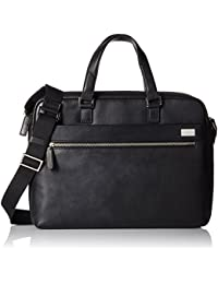 Cross Men's Genuine Leather Slim Briefcase with Free Cross Agenda Pen (AC021023)