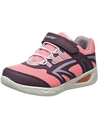 Hi-Tec Thunder Junior, Zapatillas de Deporte para Exterior para Niñas, Rosa (Plum/Blossom/Elderberry 090), 30 EU