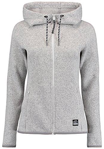 O 'Neill pista Sudadera Forro Polar, mujer, Piste hoodie fleece, Powder White