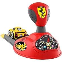 Artsana Spain, S.A.U. Pista Lanzador Ferrari Mini Turbo Touch Incluye 4 Conos y 1 Trofeo