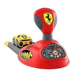 Chicco - Lanzador Ferrari de coches electrónico con coche incluido