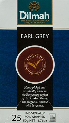 EARL GREY TEA 25 PZ