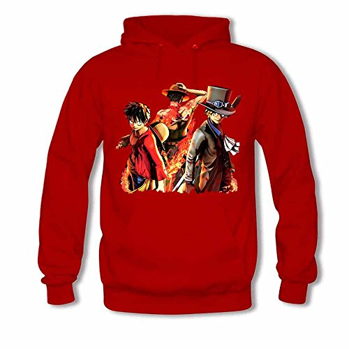 One Piece Luffy and Vinsmoke Sanji Women's Hoodies S