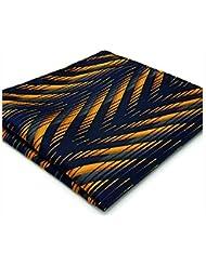 WZW Cravate & Foulard Vintage / Mignon / Soirée / Travail / Décontracté Rayonne.Homme Géométrique.Bleu Toutes les Saisons
