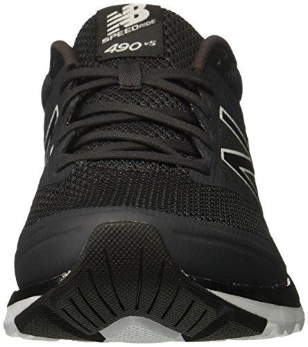 New Balance 490v5, Scarpe Sportive Indoor Uomo Black/Phantom