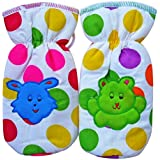 Polka Dots Feeding Bottle Covers (Pack Of 2, Multicolor)