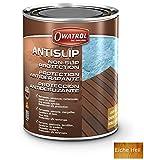 Owatrol Antislip Imprägnierung Holzöl Anti-Rutsch Öl Holzschutz Antigliss (1 Liter, Eiche Hell)