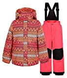 Icepeak Jody - Kinder Schneeanzug Skianzug - 852102521-635 rot, Größe:92