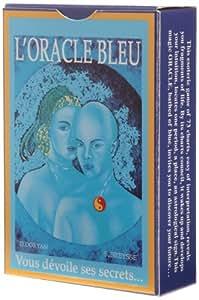 France Cartes - 394268 - Jeu De Cartes - Oracle Bleu - 73 Cartes - Étui Carton - Avec Notice Trilingue