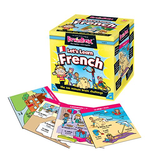 Brainbox Let'S Learn French Juguete educativo de idiomas (Green Board Games 90055) (versión en francés)