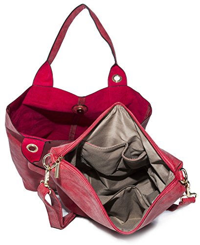 Big Handbag Shop - Sacchetto donna Rosa (rosa)