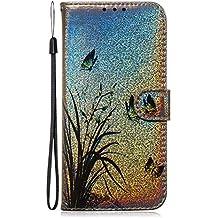 NEXCURIO Funda para Galaxy A2 Core, Funda Móvil con Soporte Cartera para Tarjetas y Cierre Magnetico Antigolpes Carcasa Cuero para Samsung Galaxy A2 Core - NETXI150085 N5