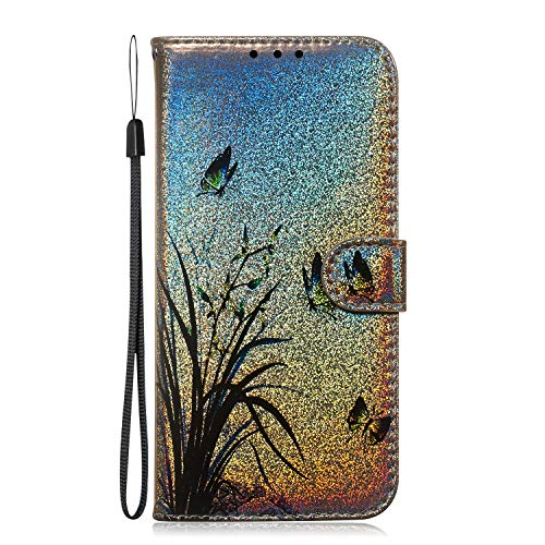 Tosim Coque iPhone 5S 5 Se Cuir PU Etui Flip Case Housse Portefeuille avec Porte Carte Support et Fermeture Magnétique pour Apple iPhone5S / iPhoneSE / iPhone5 - TOTXI150009 T5
