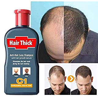 Huichang Fast Hair Growth Essence Serum Repair Damaged Coarse Anti Hair Loss Liquid (Gray)