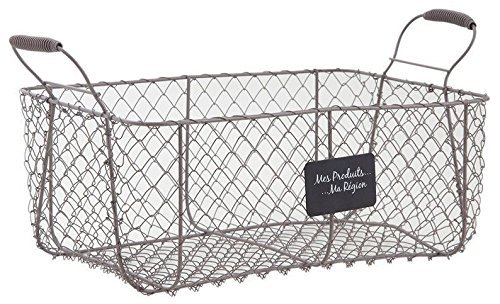 cajon-gris-alambre-cesta-del-almacenaje-de-metal-de-granja-de-estilo-frances-del-almacenamiento-de-v