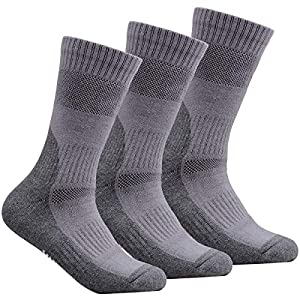 51bHiooQIUL. SS300  - YUEDGE 3 Pairs Women's Walking Socks Cushion Breathable Trekking Socks Outdoor Winter Thermal Warm Socks