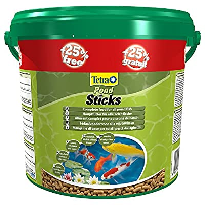 Tetra Tetrapond Food Sticks, 4 Litre Plus 1 Litre Free