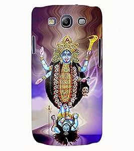 ColourCraft Goddess Kaali Maa Design Back Case Cover for SAMSUNG GALAXY S3 NEO I9300I