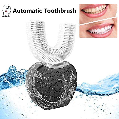 Oshide Full-automatic Frecuencia variable 360 ° Cepillo de dientes eléctrico ultrasónico Dientes Dispositivo de blanqueamiento con luz fría Cepillo de dientes automático