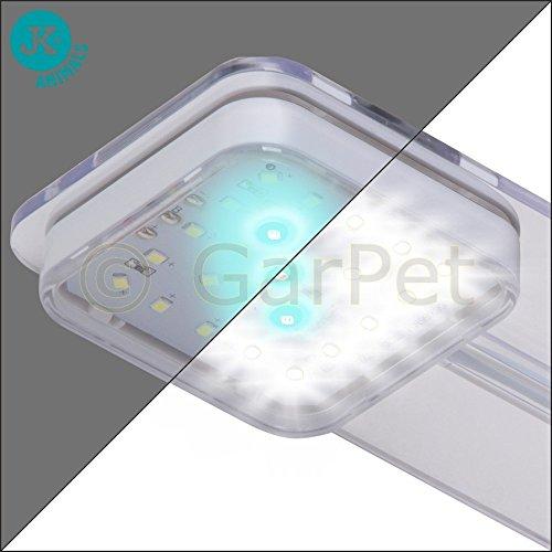 Nano Cube LED Würfel Garnelen Aquascaping Komplett Aquarium Set Filter Lampe (weiß) -