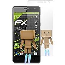atFoliX Protección de Pantalla para Cubot S168 Lámina protectora Espejo - FX-Mirror Protector Película con efecto espejo