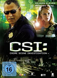 CSI: Crime Scene Investigation - Season 11.2 [Limited Edition] [3 DVDs]