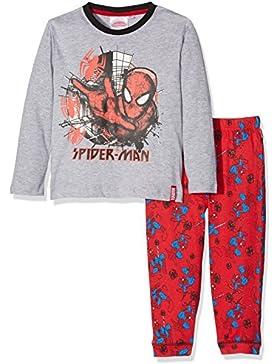 DC Comics Spiderman Spider Web, Conjuntos de Pijama para Niños