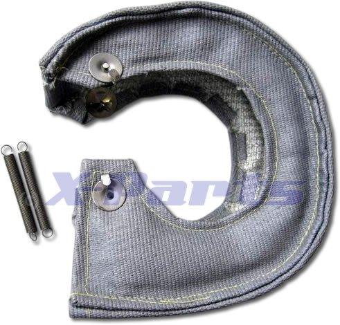 Preisvergleich Produktbild Turbo Hitzeschutz Garrett KKK Turbo GRAU Keramik 1200°C Pampers