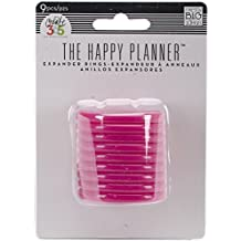 Me & My Big Ideas Kunststoff schaffen 365Planer Expander rings-pink