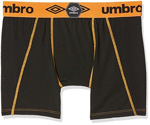 Umbro Herren Sport Unterwäsche Aktiv Boxer Atmungsaktives Mesh-Panel, 2er Pack multicolor