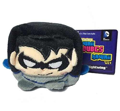DC Comics Kawaii Cubes Nightwing - Small Plush Collectible