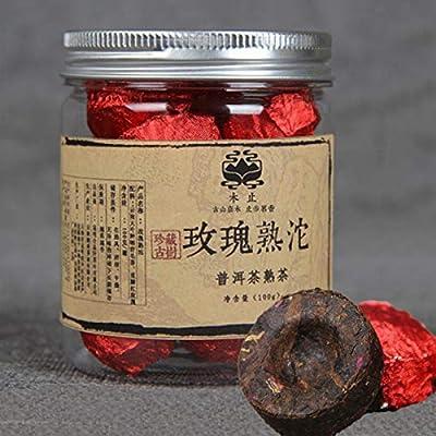 100g (0,22LB) petit thé Tuocha thé Pu'er mûr en conserve rose Puer cuit thé Pu-erh thé Pu erh thé chinois thé sain thé Puerh thé rouge