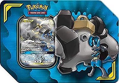 Pokémon POK80540 TCG : Power Partnership Tag Team Tin (aléatoire) Couleurs mélangées