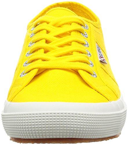 Superga 2750-Cotu Classic, Sneakers Unisex Adulto Amarillo (Gelb (Sunflower))