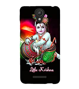 Fuson Premium Li`L Krishna Printed Hard Plastic Back Case Cover for Xiaomi Redmi Note 2 Pro