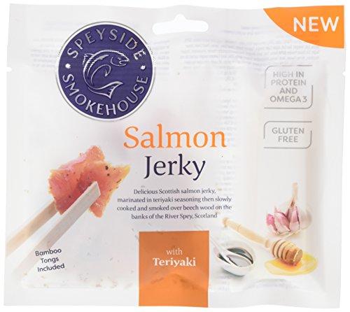Speyside Teriyaki Salmon Jerky, 12er Pack (12 x 30g)
