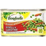 Bonduelle - Piselli E Carotine, Contorno Di Verdure Subito Pronto - 400 G