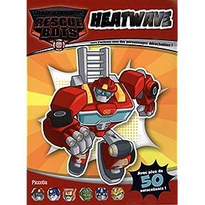 Heatwave : Livre d'activités avec des personnages détachables !